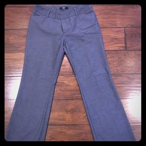 Mossimo navy blue dress pants sz 6